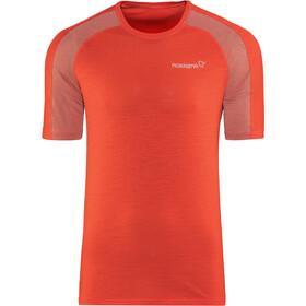 Norrøna Bitihorn Wool t-shirt Heren rood